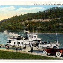 Image of Wenona ferry                                                                                                                                                                                                                                                   - Postcard Collection