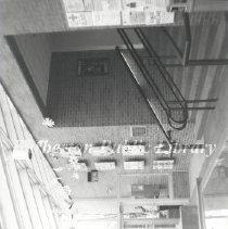 Image of 2014.024.021 - Barberton Public Library Atrium Interior in the 1990's