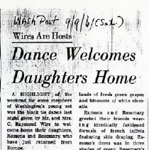 Image of Dance Welcomes Daughter's Home (1000.105.03o)