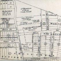 Image of Survey of Minnehaha E. Brook's property (1000.108.01g)