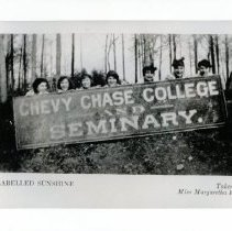 Image of Chevy Chase College and Seminary Students (2008.195.08)