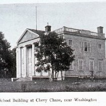 Image of E.V. Brown School, Chevy Chase, DC, circa 1900 (1988.07.08)