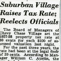 Image of Suburban Village Raises Tax Rate (1000.112.01h)