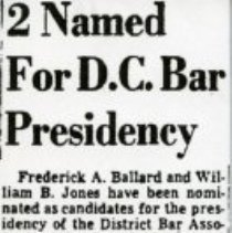 Image of 2 Named for D.C. Bar Presidency (1000.112.01j)