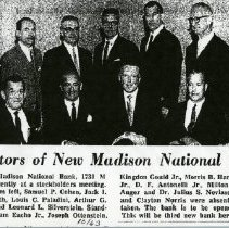 Image of Directors of New Madison National Bank (1000.112.01l)