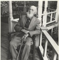 Image of Dr. Cobb on his 99th Birthday (See 1987.02.01 and 1987.02.05).