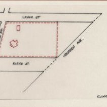 Image of Property diagram, 1899 (1000.119.03a)