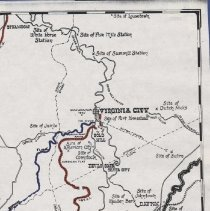 Image of RIght side of the Comstock Lode map (1000.122.01c)