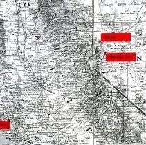 Image of Map of Reno, Virginia City and San Francisco (1000.122.01a)