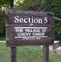 Image of Section 5 sign (2009.126.05)