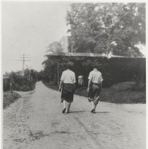 Image of Two boys on Brookeville Road (1990.06.02)