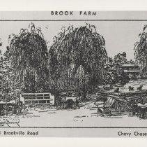 Image of Brook Farm postcard (2007.32.19)