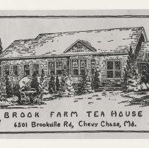 Image of Brook Farm Tea House postcard (2007.32.18)