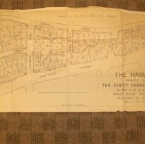 Image of 1987.13.01 - The Hamlet, Property of the Chevy Chase Land Co., Blocks 12 to 16