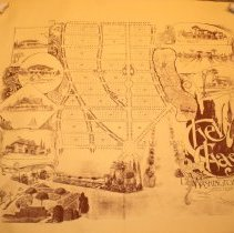 Image of 1987.17.01 - Street Map Chevy Chase - Promotional Map used by Chevy Chase Land Co