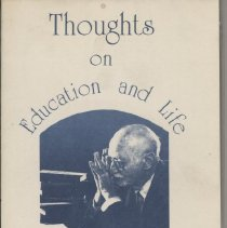Image of 1987.28.07 - Thoughts on Education and Life