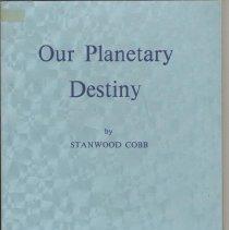 Image of 1987.28.08 - Our Planetary Destiny