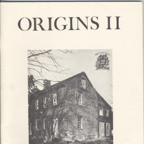 Image of 1987.31.05 - Origins II