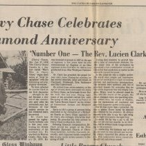 Image of 1988.01.01 - Chevy Chase Celebrates Diamond Anniversary