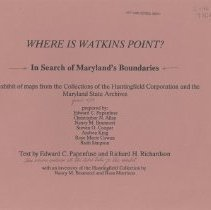 Image of 1988.06.02 - Where is Watkins Point?