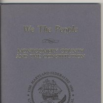 Image of 1988.13.01 - We the People: Montgomery County and the Consititution