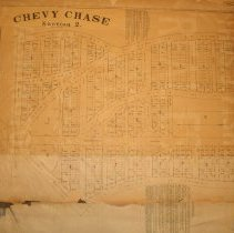 Image of 1988.14.18 - Chevy Chase Section 2 Lots Sold and Prices per square foot
