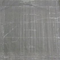 """Image of 1989.30.03 - Plat Map of Part of """"Claggett's Purchase"""" and Labyrinth"""