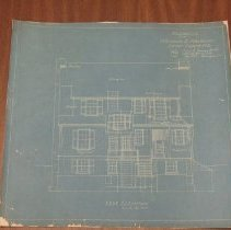 Image of 1995.05.02 - Pencil drawings of Blueprints/Architectural Drawings for 21 Grafton St