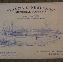Image of 1990.19.06 - Francis G. Newlands Memorial Fountain - Rededication ceremony