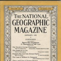 Image of 1991.08.05 - The National Geographic Magazine, Volume LXI Number One, January 1932