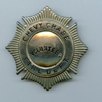 Image of 1992.02.01 - Fire department badge