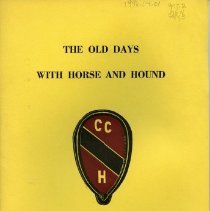 "Image of 1996.04.01 - ""The Old Days with Horse and Hound"""