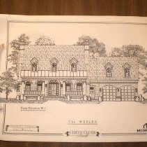 Image of 1999.03.02 - The Wesley: Architectural Plans of homes in Chevy Chase Park with Listing of Sections and Prices