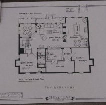 Image of 1999.03.07.12 - The Newlands: Front Elevation, Chevy Chase Park, Optional Second Floor Plan