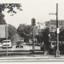 Image of 2000.04.12 - Connecticut Ave, DC; looking south from Chevy Chase Circle