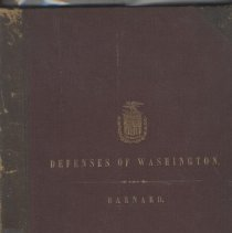 Image of 2002.14.01 - Report on the Defenses of Washington