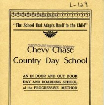 Image of 2003.08 - Catalog from Chevy Chase Country Day School