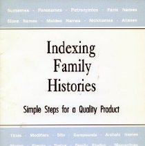Image of 2004.04.01 - Indexing Family Histories