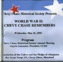 Image of 2005.10.02 - WWII: Chevy Chase Remembers