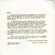 Image of 2005.13.08 - William H. Snape Correspondence: Kacky and Johnny Troth
