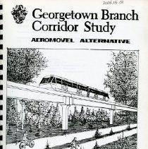 Image of 2005.15 - Georgetown Branch Corridor Study-- Final Report