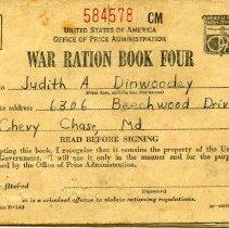Image of 2005.17.06 - War Ration Book