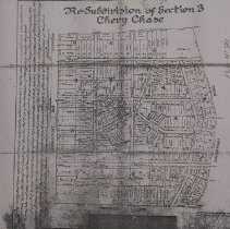 Image of 2005.30.01.01 - Resubdivision of Section 3, Chevy Chase