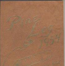Image of 2006.42.04 - Pine Log Yearbook 1954