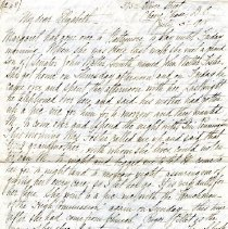 Image of 2006.43.21 - Letter to Elizabeth Deeble from her mother