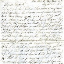 Image of 2006.43.33 - Letter to Elizabeth Deeble from her mother