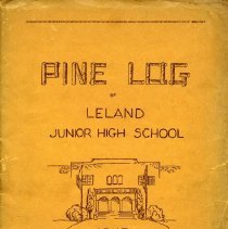 Image of 2007.06.01 - Pine Log Yearbook 1945