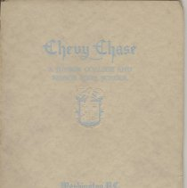 Image of 2007.23.05 - Chevy Chase Junior College Senior High School Yearbook 1937