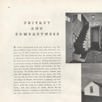 Image of 2007.23.06 - Privacy and Compactness, House Beautiful August 1935