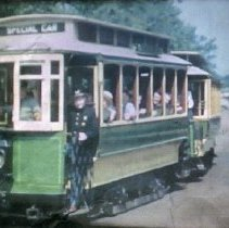 Image of 2007.71.03 - 16mm Film of 1941 Capital Traction Co with streetcar footage